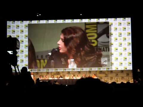 Comic Con 2012 Stephenie Meyer being really Rude at the Twilight Saga Panel July 12th