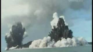 TVNZ One News - Undersea Volcano Eruption 09 [ Tonga ]