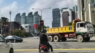 DRIVING IN KUALA LUMPUR - Jalan Sultan Yahya Petra To Jalan Sultan Ismail