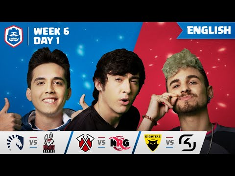 Clash Royale League: CRL West 2019 | Week 6 Day 1! (English)