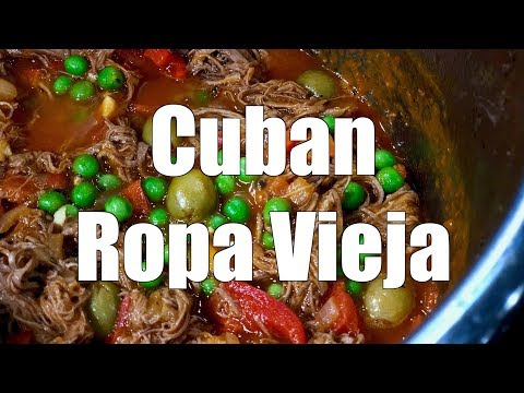 How To Make CUBAN ROPA VIEJA