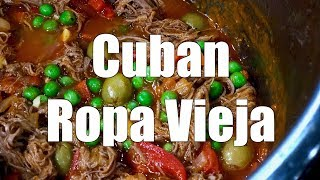 How To make CUBAN ROPA VIEJA