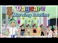 Mom of 6 kids Bloxburg Daycare Routine
