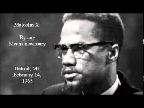 malcolm x by any means necessary mit allen