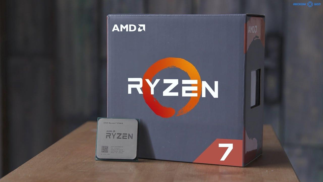 Собираем ПК для игр и монтажа на AMD Ryzen 7 1700x в 4k