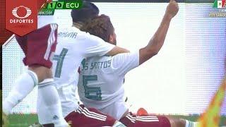 Gol de Dos Santos | México 1 - 0 Ecuador | Partido amistoso | Televisa Deportes