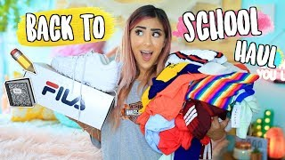 HUGE Back to School Clothing Haul 2018!!