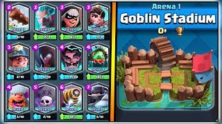 GET ANY LEGENDARY CARD FROM ANY ARENA! | CLASH ROYALE MYTHBUSTERS!