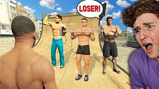 I had to FIGHT my BULLIES in GTA 5.. (Mods)