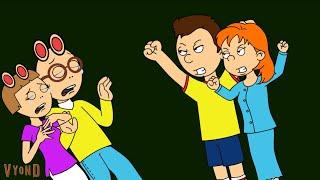 Caillou y Rosie golpea a Arthur y DW / sin conexión a tierra