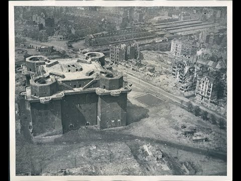"""FLAT EARTH BRITISH, The Monumental """"Battle Of The Flak Towers""""( Berlin 1945)"""