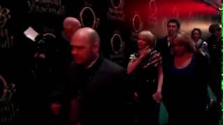 Джеймс Франко и Мишель Уильямс на премьере фильма Оз: Великий и Ужасный в Москве