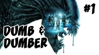 Aliens: Colonial Marines | Ep.1, Dumb and Dumber