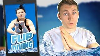 видео Игра Прыжки В Воду