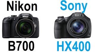 Nikon Coolpix B700 vs Sony Cyber-shot HX400