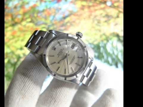 dtwatches.com Rolex oyster engine turn bezel ref 15010