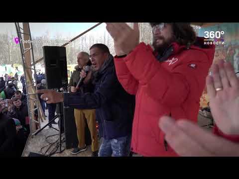 Актер фильма «Такси» Сами Насери принял участие в масленичных гуляниях в Щелкове