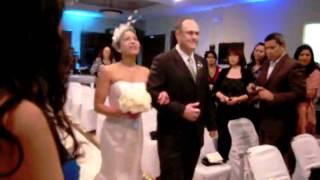 Wedding Gobo -  Ann T Gary - gig log 1/3/10 Bride entrance NMS MOBILE DJ