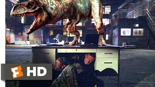 100 Million BC (2008) - Time Traveling T-Rex Scene (7/10) | Mo…