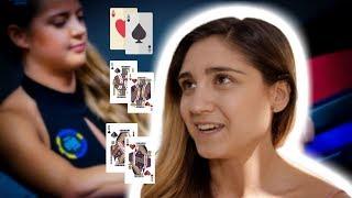 Ana Marquez Analyzes 3 Way All-In Hand with Sofia Lovgren