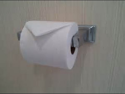 How to properly install toilet paper - YouTube