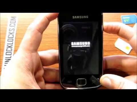 How To Unlock Samsung Galaxy Gio S5660 By Unlock Code From UnlockLocks.COM