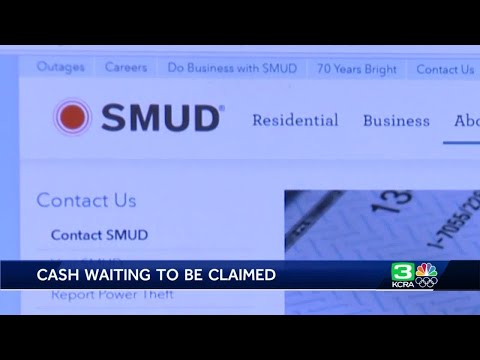 More than 2,100 people have unclaimed money from SMUD