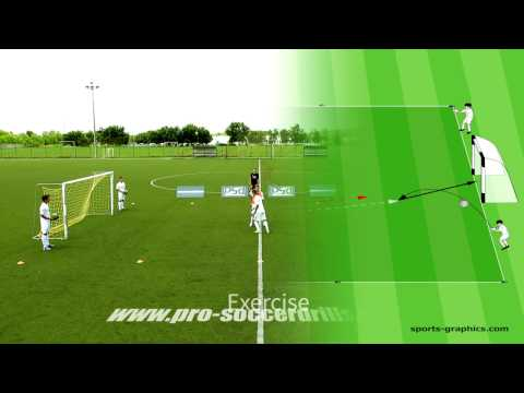 1v1 Soccer Drill - Heading Competition