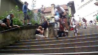 Pražské schody 2010 - sjezd schodů