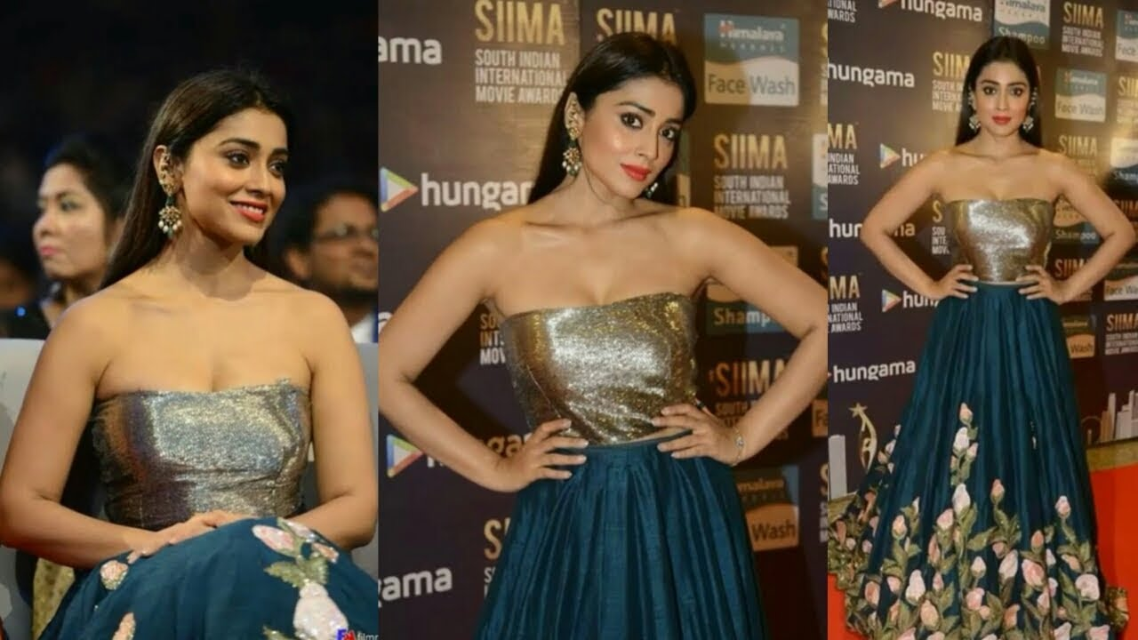 Shriya Saran Hot Expressions In SIIMA Awards 2018 HD