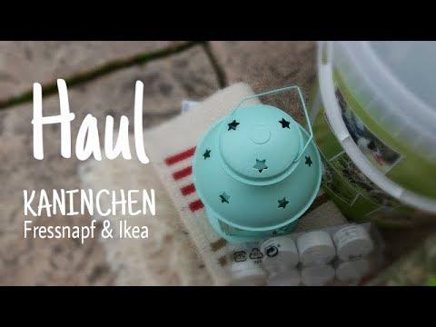 Kaninchen HAUL 📦🌸 (Fressnapf & Ikea)   Kaninchenstar