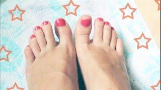 видео Уход за ногтями на ногах.