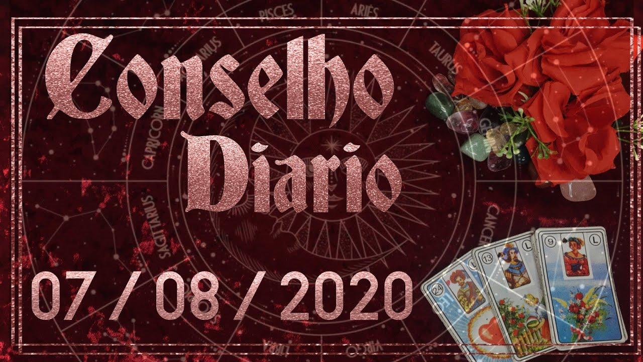 Conselho Diário 07/08/2020