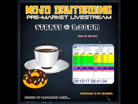 🍩6/29 Pre-Market $SPEX $TROV $NXTD $EBIO $AMD ☕️ The MOJO Day Trading Show
