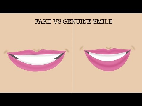 How To Spot A Fake Smile