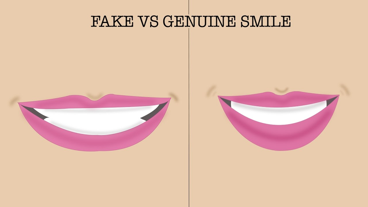 How To Spot A Fake Smile - YouTube