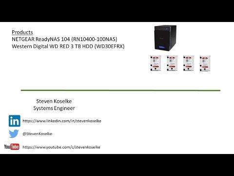 Netgear ReadyNAS 104 Setup, Installation, and Configuration