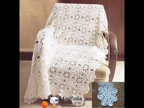 How To Crochet White Afghan Blanket Free Easy Pattern Tutorial
