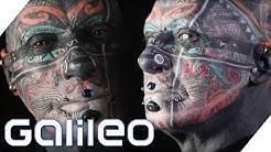Krasse Verwandlung: Vom Spießer zum Tattoo-Model   Galileo   ProSieben