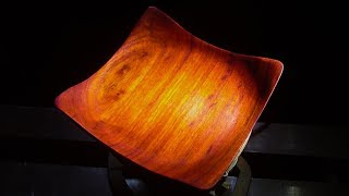 Woodturning a Square Bowl