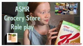 ASMR~ Grocery Store Roleplay