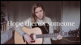 """Hope there's someone"" (Antony and the Johnsons) live cover by Irene Santos"