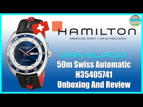 Real Looker! | Hamilton Pan Europ 50m Swiss Automatic H35405741 Unboxing And Review