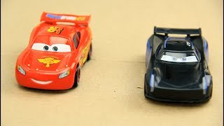 Cars 3 Lightning McQueen vs Jackson Storm Video for kids
