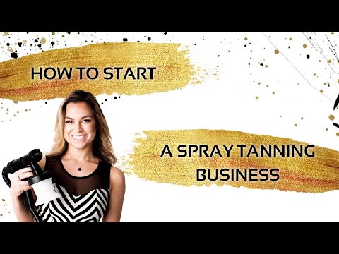 #BronzeUpBrunch | How to Start a Spray Tanning Business