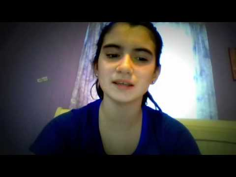 Girl Singing Crazy Beautiful By Skylar Stecker