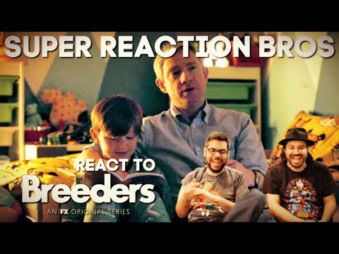 SRB Reacts to Breeders   Official Season 1 Trailer