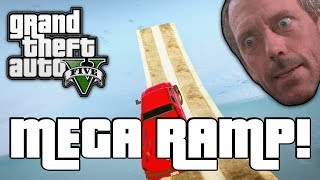 GTA V: MEGA RAMP! (GTA 5 Online Funny Moments)