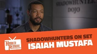Shadowhunters On Set: Isaiah Mustafa Talks Season 2B