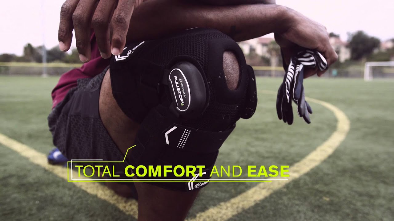 efc564290c DonJoy Performance Bionic Fullstop ACL Knee Brace Technology & Features